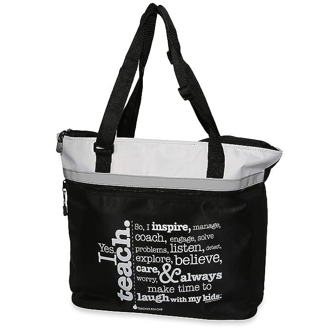 Best Teacher Ever Tote Bag Long Handles TB1310