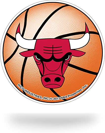 Rico Industries Nba Chicago Bulls Team Tattoo Red Orange 5 Inches By 3 5 Inches By 0 2 Inches Sport Freizeit