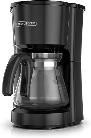 BLACK DECKER 5-Cup Coffeemaker, Black, CM0700BZ