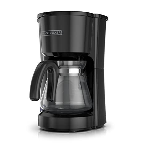 Review BLACK+DECKER 5-Cup Coffeemaker, Black,
