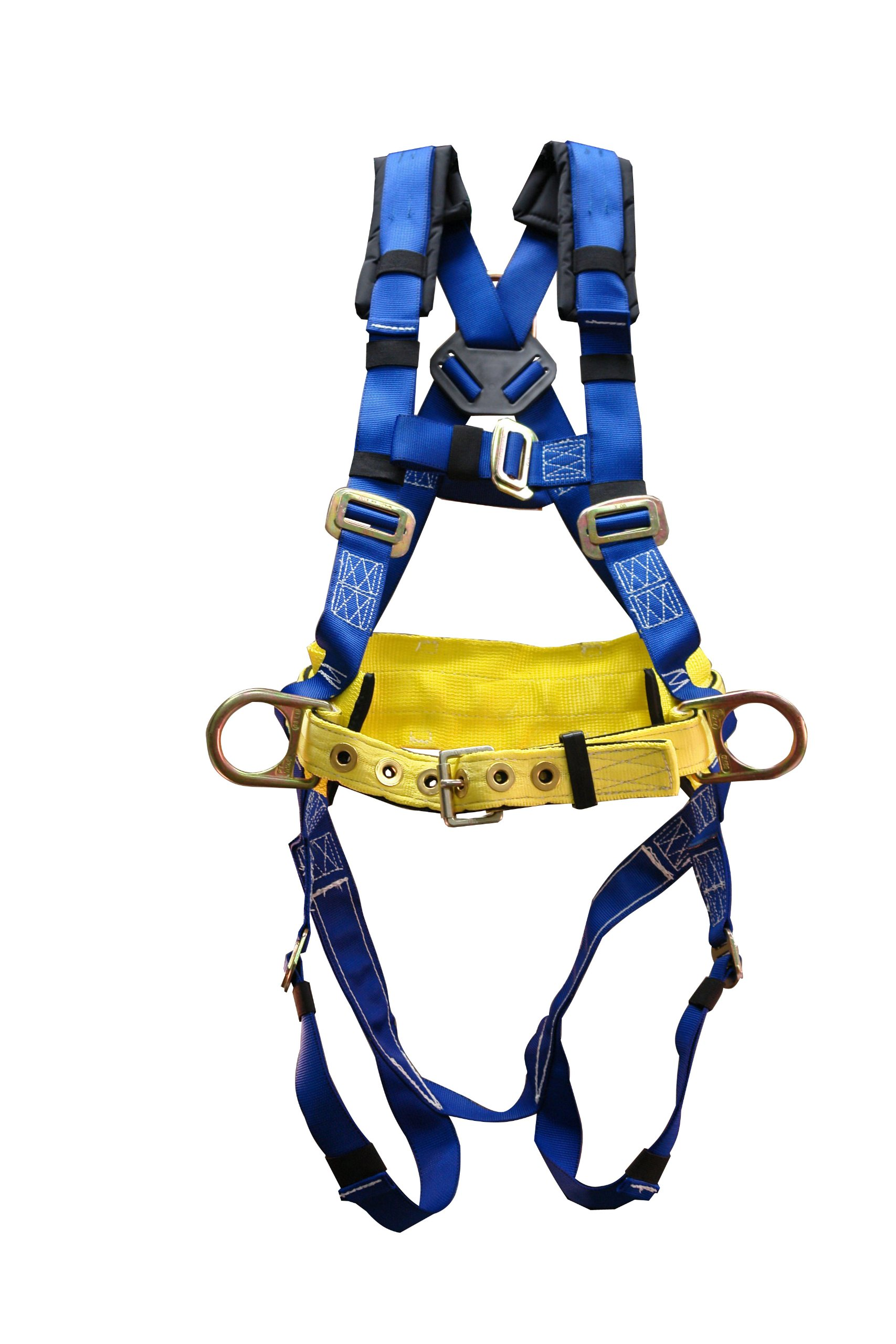 Elk River 74304 WearMaster Polyester/Nylon 3 D Ring Harness with Mating Buckles, X-Large by Elk River
