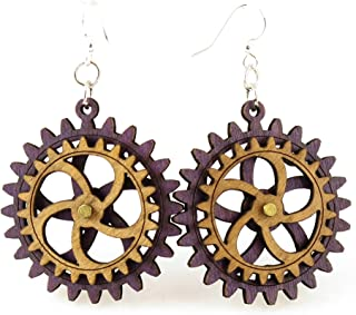 product image for Kinetic Gear Earring 2D