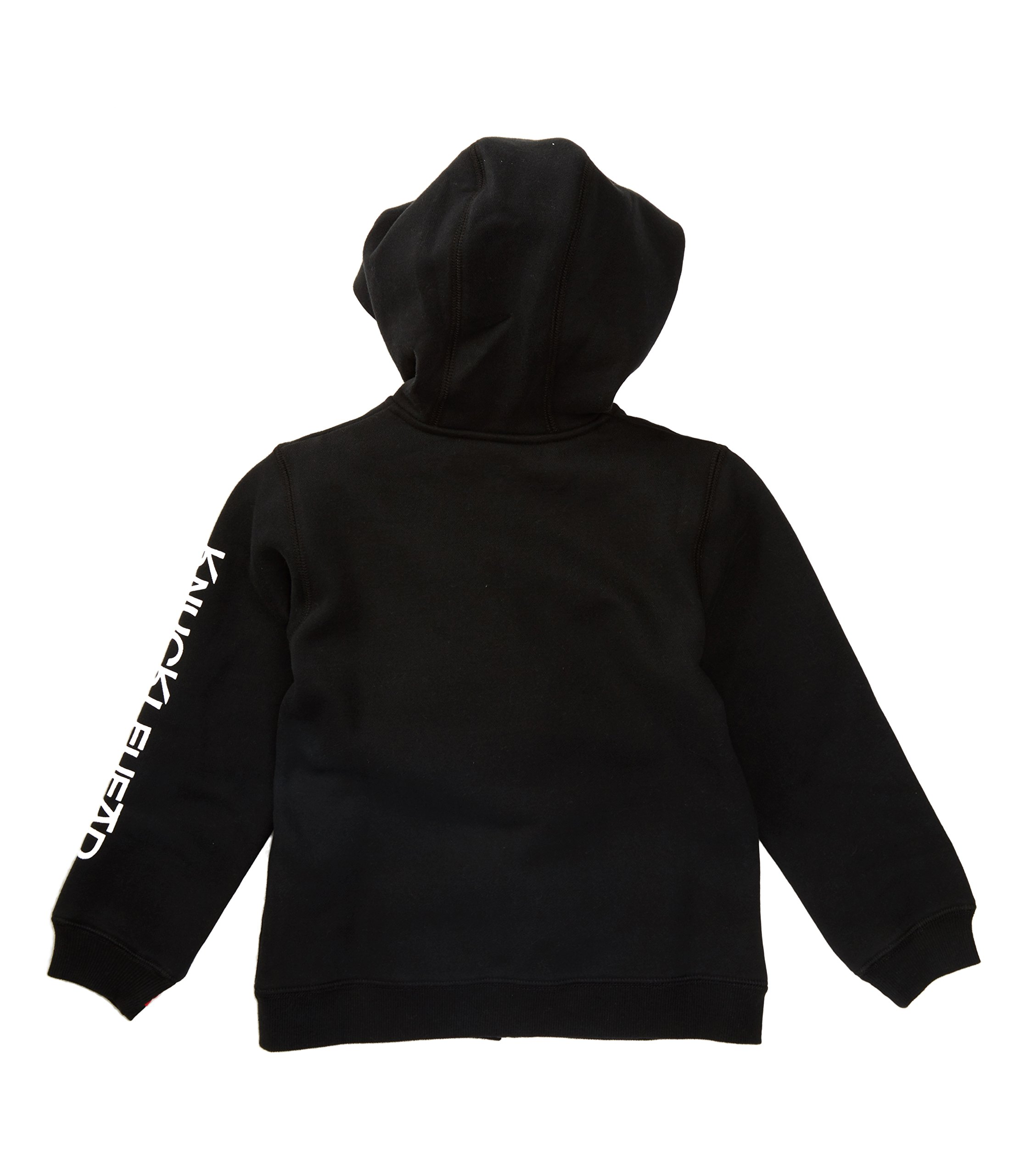 Born to Love Knuckleheads - Toddler Hooded Sweatshirt Boys Black Logo Pullover Zip Up Hoodie (8T) by Born to Love (Image #4)