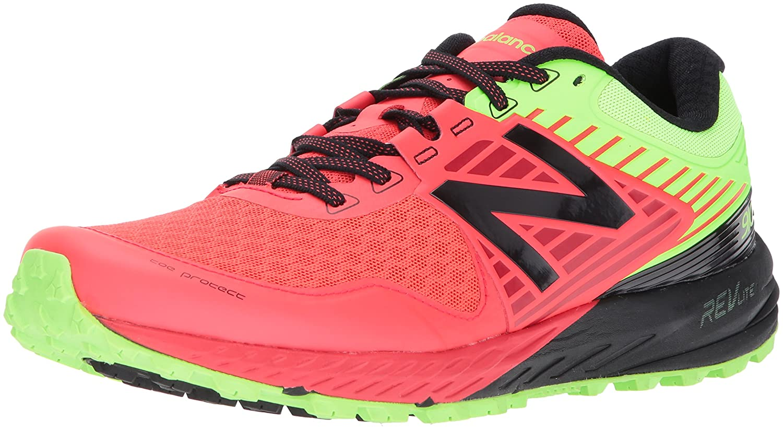New Balance Men's 910v4 Running Shoe B01MTQ8IJ3 14 2E US|Energy Red/Energy Lime