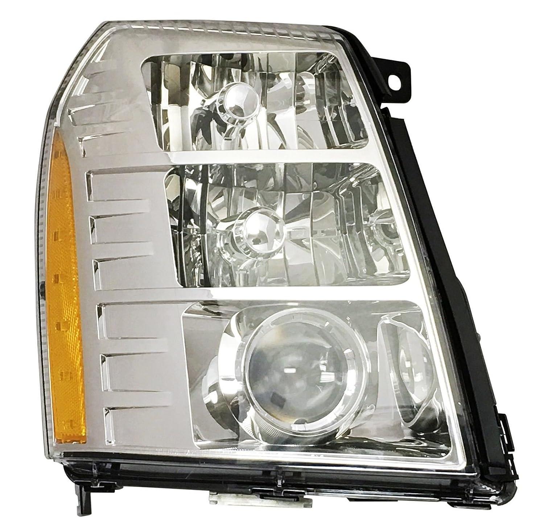 Depo 332-11B3R-ASHN Head Lamp Assembly Cadillac Escalade 09-14//Escalade Esv 07-14//Ext//Hybrid 09-13with Hid 2Nd Design