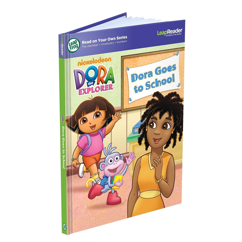 Amazon com: LeapFrog LeapReader Book: Dora Goes to School