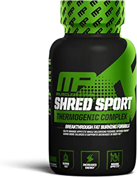 60-Count MusclePharm Shred Sport Thermogenic Weight Loss Supplement