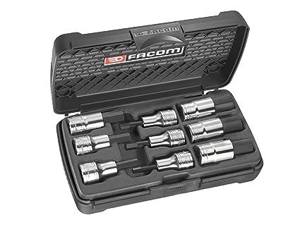 Facom FCMSTMJ9 STM.J9 - Juego de puntas hexagonales para destornillador (1/2