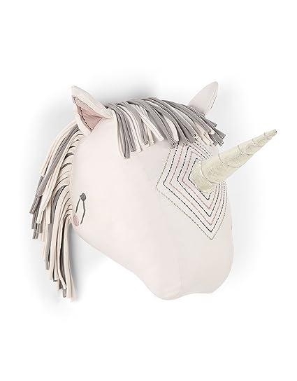 Mamas & Papas unicornio cabeza pared arte
