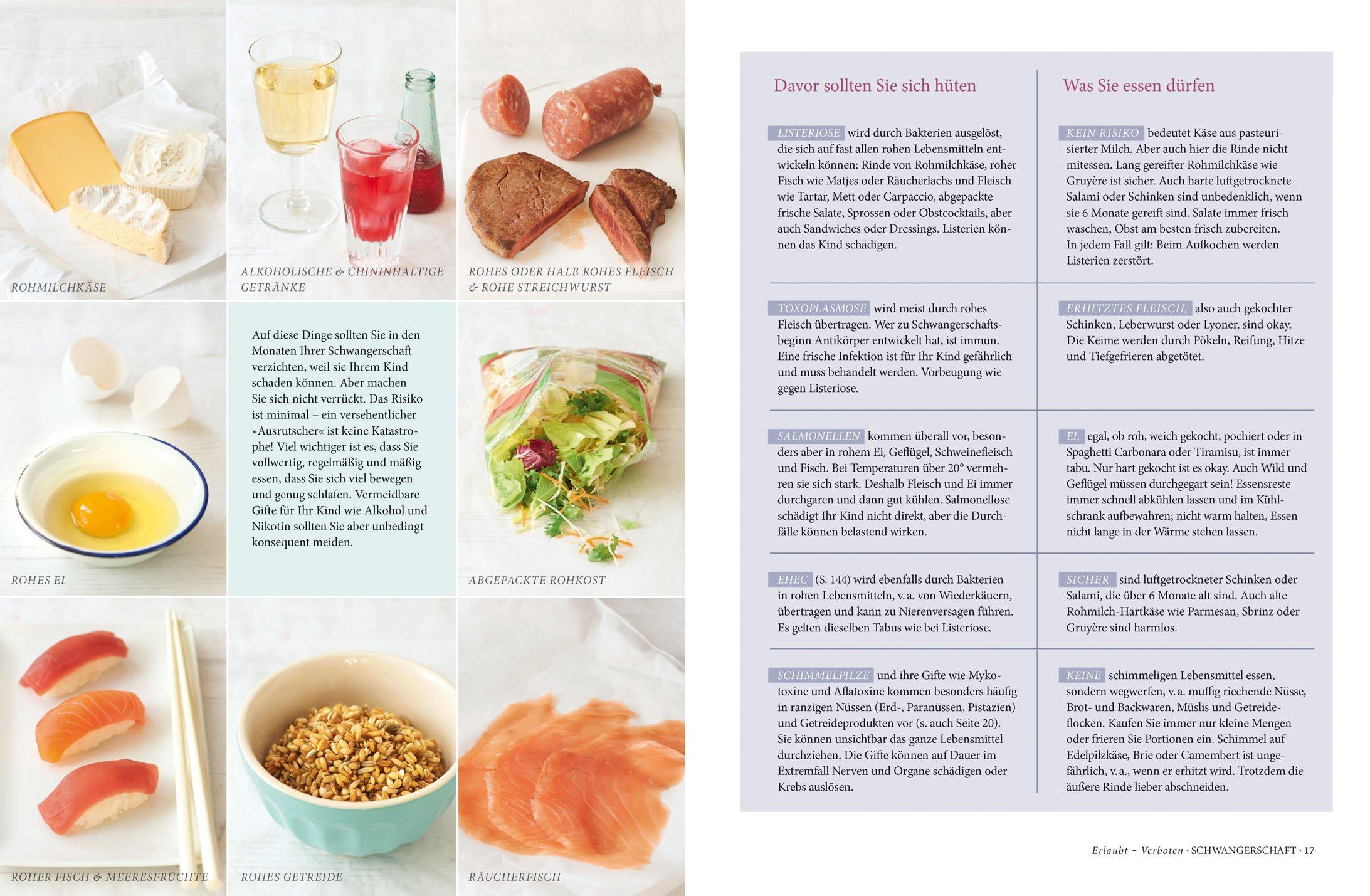 Richtig essen in schwangerschaft und stillzeit - Gesunde