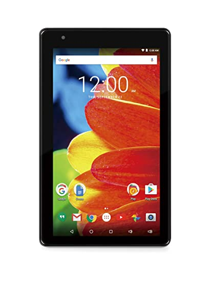 amazon com: rca rct6873w42 voyager 7 16gb tablet 1024 x 600 resolution  1 2ghz intel atom quad-core processor android 6 0 marshmallow, black:  computers &