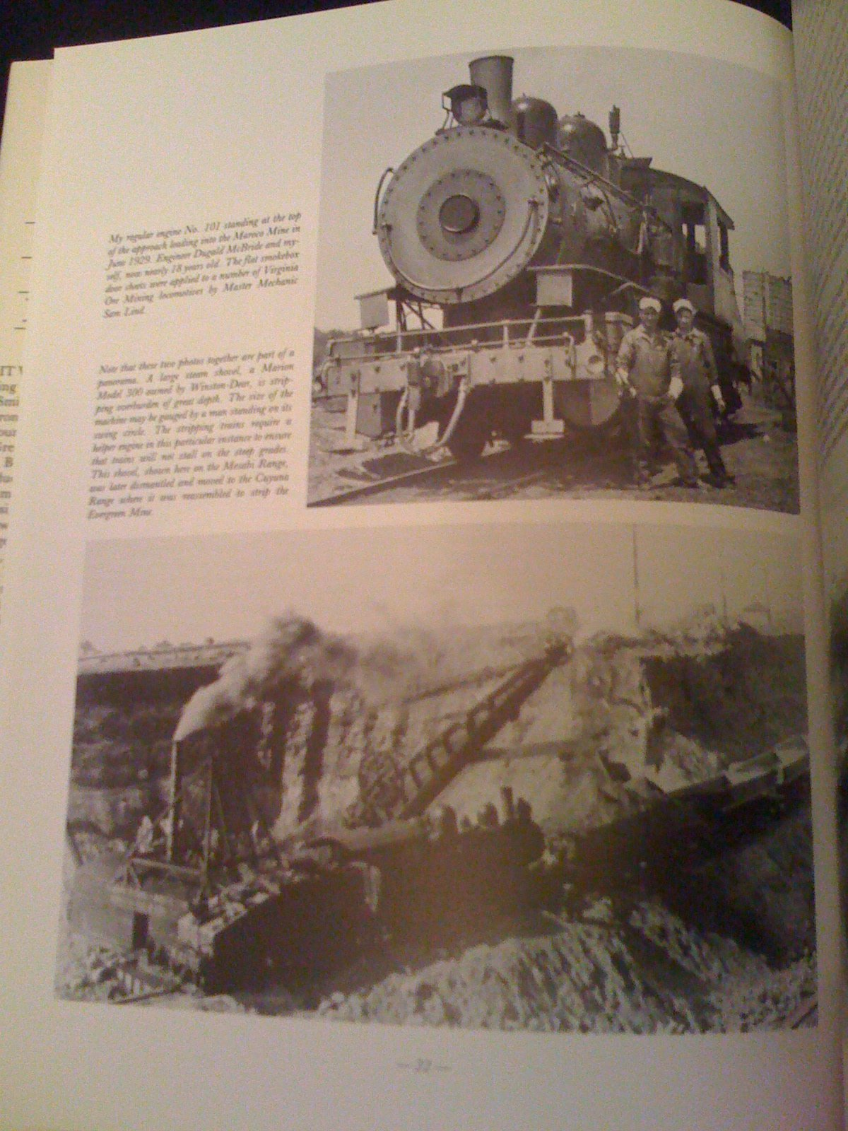 One man's locomotives: 50 years experience with railway