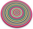 Joseph Joseph Worktop Saver, Coloured Rings