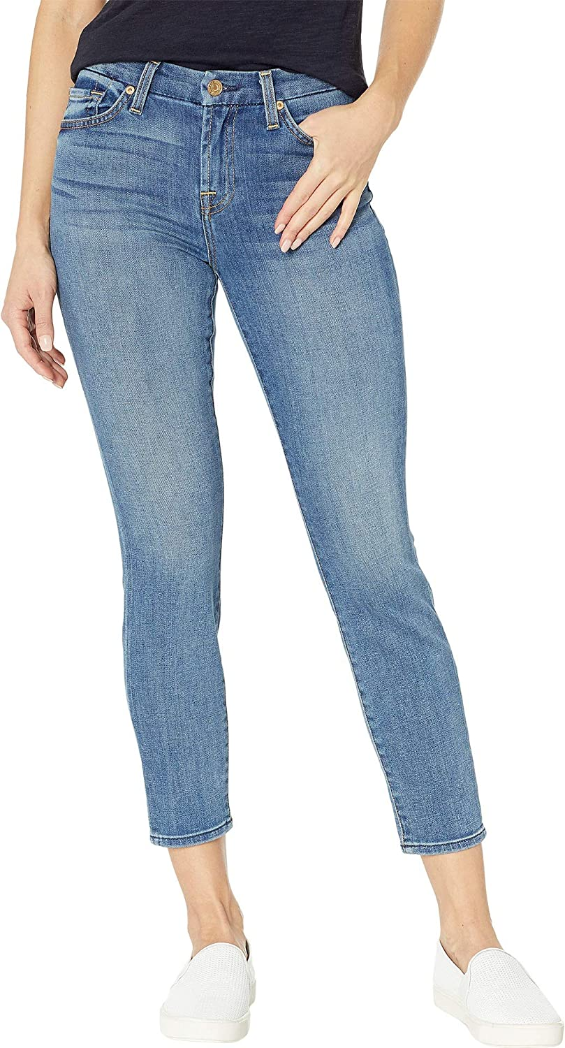 7 For All Mankind Womens Kimmie Crop in Primm Valley