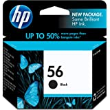 HP 56   Ink Cartridge   Black   C6656AN