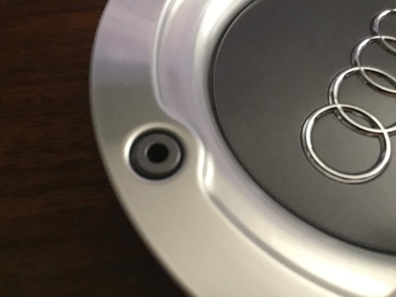 Autoarlo 4X 146mm Silver Gray Wheel Center Hub Caps for A4 A6 S4 B5 TT S6 A8 A3 A2