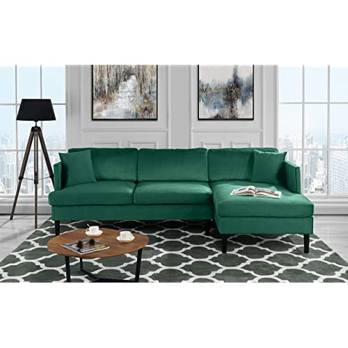 Velvet Sectional Sofa Amazon Com