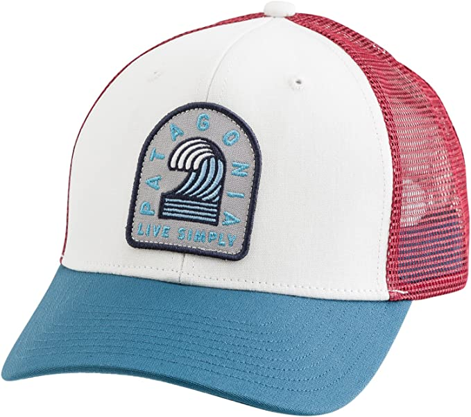 a813a3d49c9 Amazon.com  Patagonia Hat One Size Whi  Sports   Outdoors