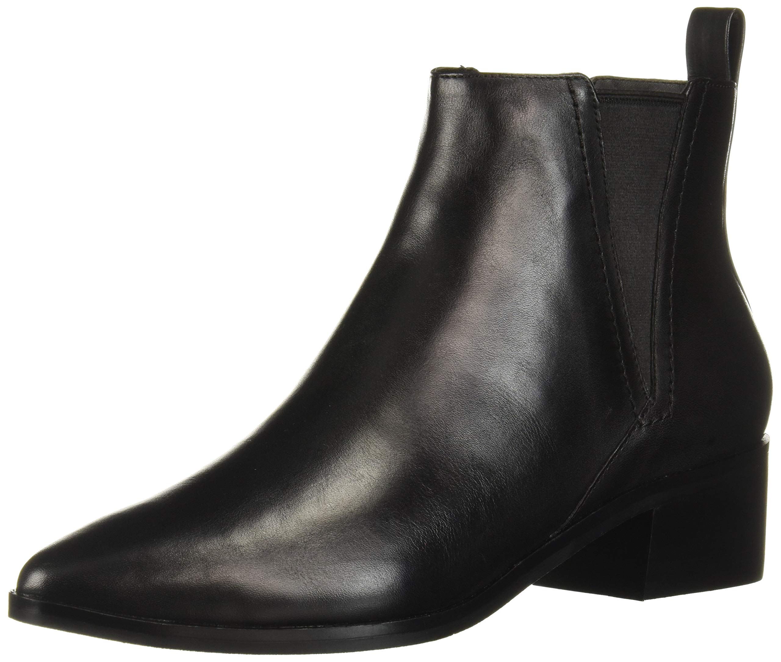 Cole Haan Women's Marinne Bootie 45Mm Ankle Boot, Black Leather, 10.5 B US by Cole Haan