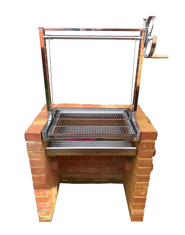 SunshineBBQs - Kit de parrilla para barbacoa de ladrillo con ...
