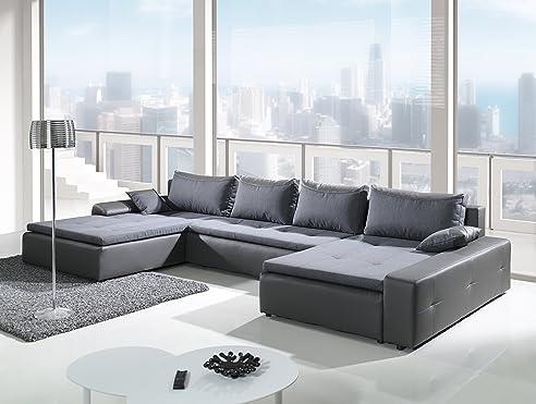 Couch u form maße  Liverpool Wohnlandschaft Polstermöbel U-Form Couch Sofagarnitur ...