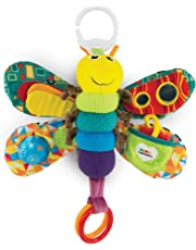 LAMAZE Freddie The Firefly - Clip on Pram & Pushchair Newborn Baby Toy, Sensory Toy, Christmas Gift for Babies Boys & Girls From 0 - 6 Months