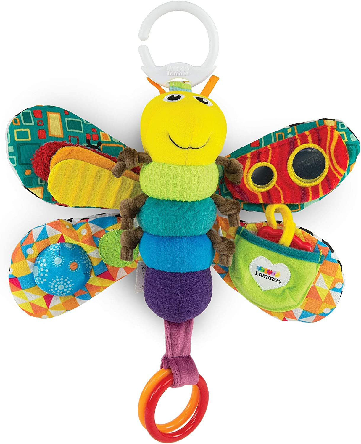 LAMAZE Freddie The Firefly - Clip on Pram & Pushchair Newborn Baby ...