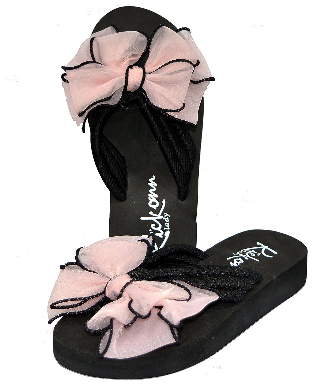 Buy Warlock Pink Bow Flipflops