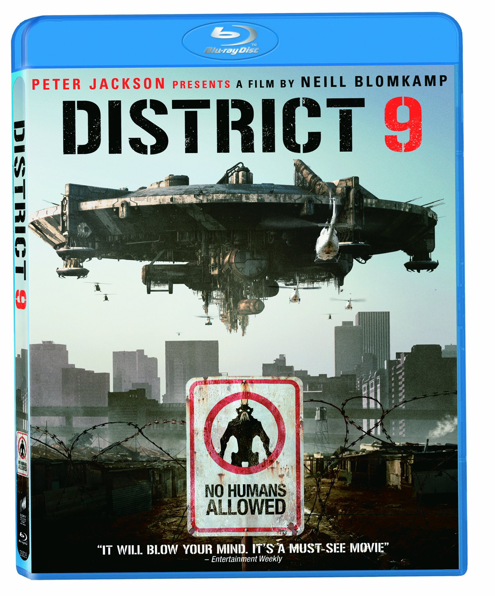 Blu-ray : District 9 (, Dubbed, Dolby, AC-3, Widescreen)