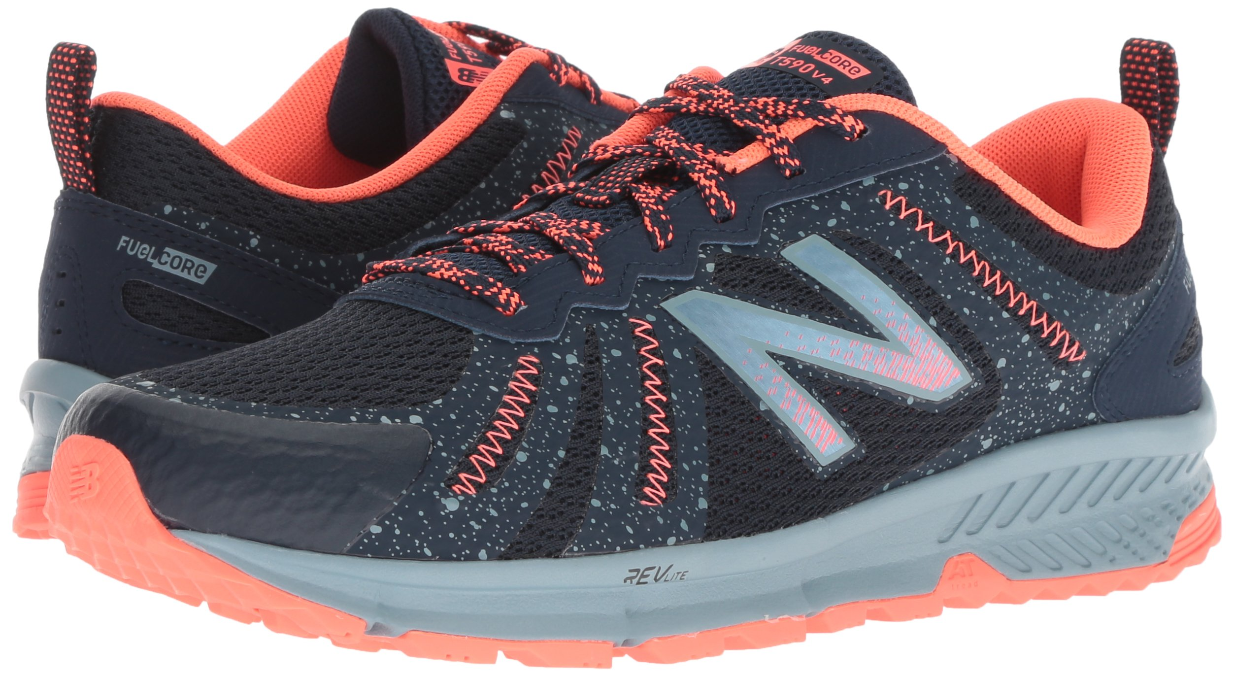 New Balance Women's 590v4 FuelCore Trail Running Shoe, Galaxy, 5.5 B US by New Balance (Image #5)
