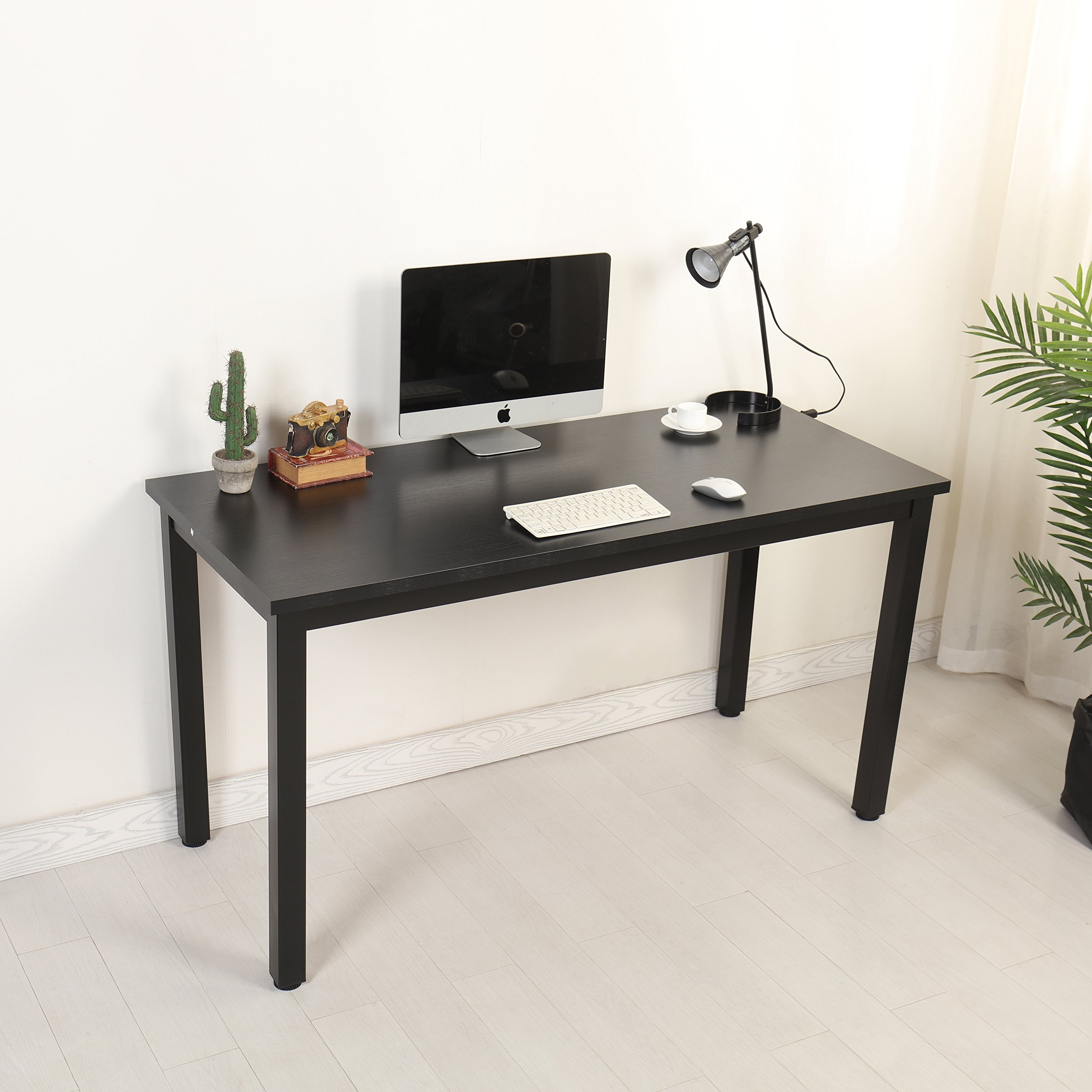 Mr IRONSTONE Computer Desk 47'' PC Laptop Study Writing Utility Table Multipurpose Workstation for Home Office