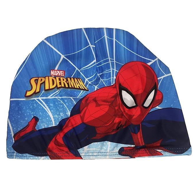 Cuffia Nuoto Mare Piscina Spiderman Bambino in Tessuto Elasticizzato   Amazon.it  Abbigliamento a047033d8aa6
