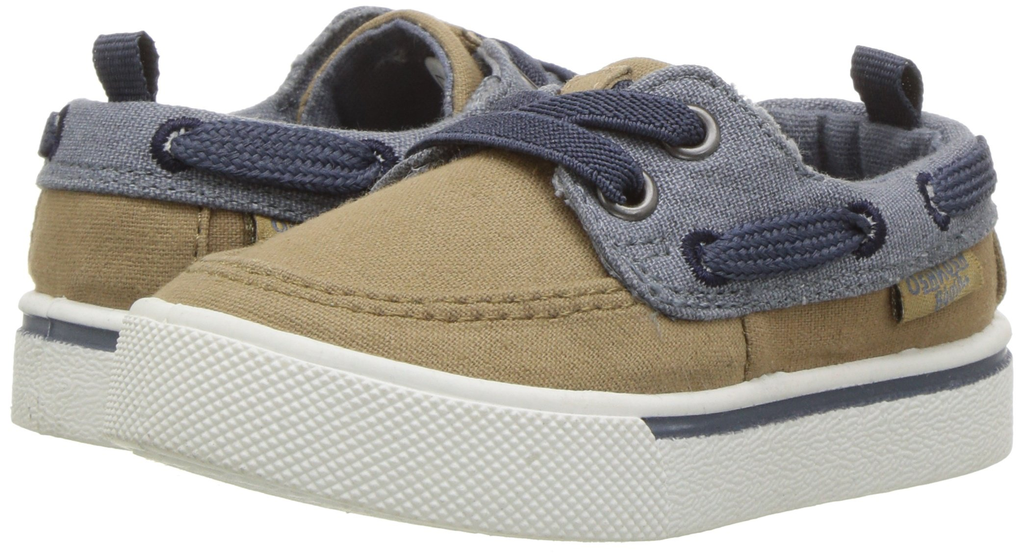OshKosh B'Gosh Albie Boy's Boat Shoe, Khaki, 12 M US Little Kid by OshKosh B'Gosh (Image #6)