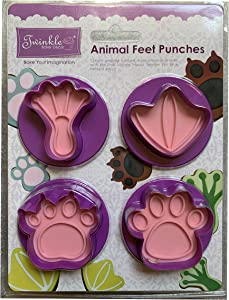Twinkle Baker Decor Animal Feet Punches