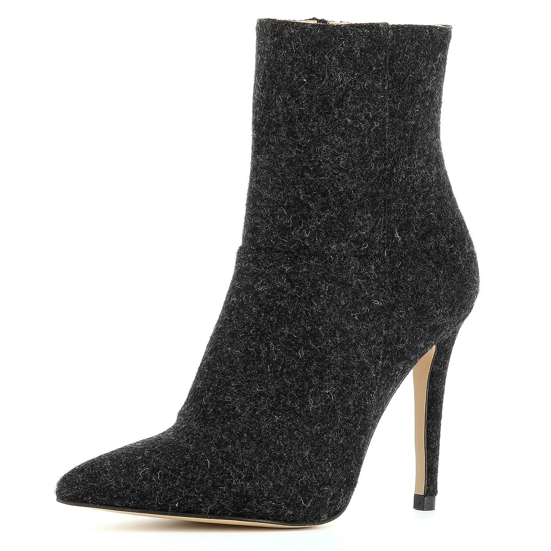 Evita Shoes 19908 Alina Noir Bottines Femme Feutre Shoes Noir 9cb8536 - reprogrammed.space