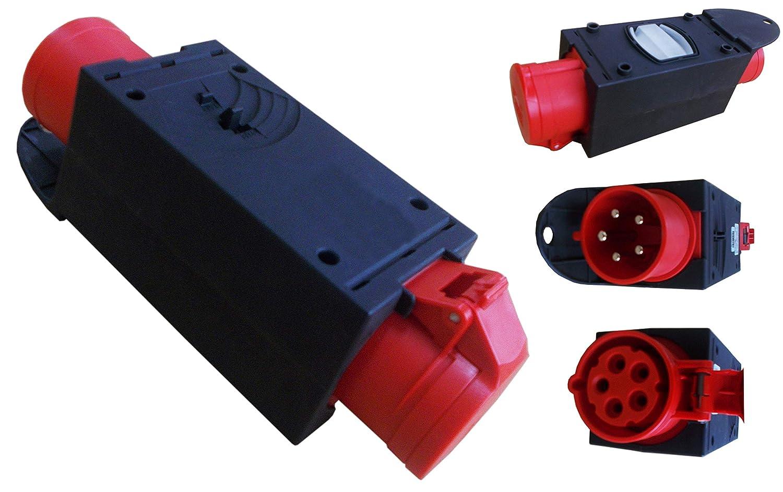 16 A C16A Stromverteiler Baustromverteiler Verteiler CEE CEE Adapter 32A 400V
