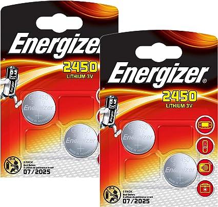 Energizer 2450 Cr2450 Premium Lithium 2x2er Set Elektronik