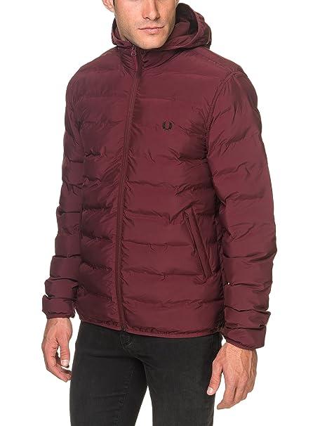 FRED PERRY Hombre chaqueta con capucha J2514 472 AISLADO ...