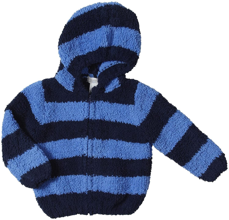 Navy//Stripe Angel Dear Baby Boys Chenille Zip Hoodie Baby