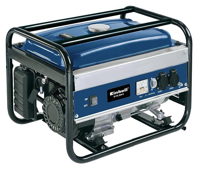 41 opinioni per Einhell 4152420 BT-PG 2000/2 Generatore di Corrente, Serbatoio da 13 l, 4 kW