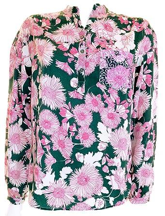 a121846c3da4ab WALLIS FLORAL PINK GREEN BLOUSE TOP SHIRT UK SIZE 10 12 14 16 18 20 22:  Amazon.co.uk: Clothing