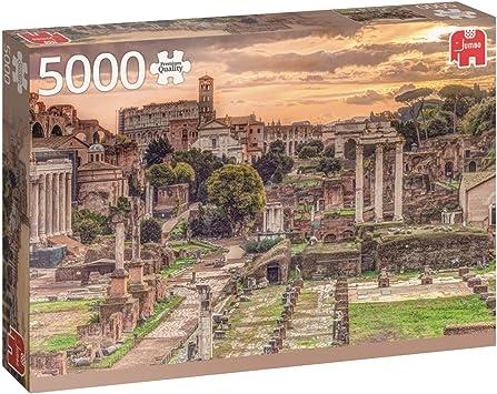 Jumbo pcs Forum Romanum, Rome, Puzzle de 5000 Piezas (618592): Amazon.es: Juguetes y juegos