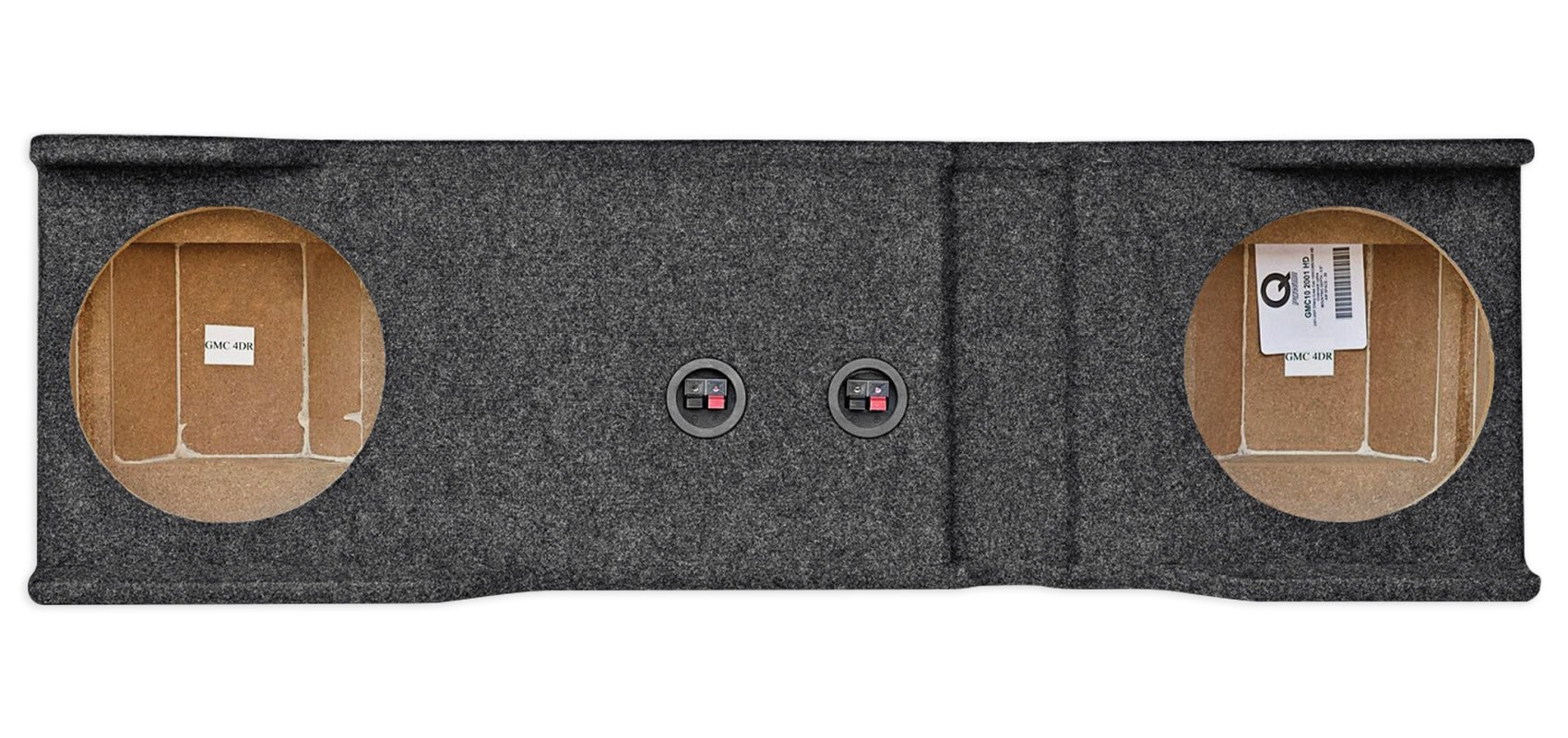 Dual 10'' Subwoofer Box For 2001-2006 Chevy/GMC Heavy Duty 1500/2500/3500HD