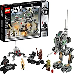 LEGO Star Wars Clone Scout Walker – 20th Anniversary Edition 75261 Building Kit (250 Pieces)