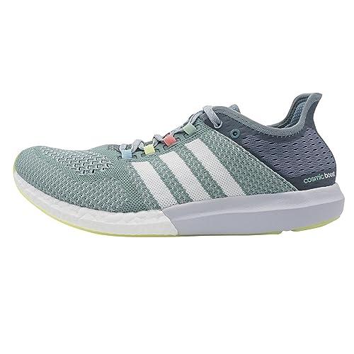 adidas CC Cosmic Boost W, Zapatillas-ADIDAS-B25265-Mujer para Mujer, Gris/Blanco/Lima, 44 EU: Amazon.es: Zapatos y complementos