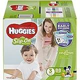 HUGGIES Little Movers Slip On Diaper Pants, Size 3