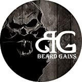 BEARD GAINS Pristine Scent Strong Hold Mustache Wax 1oz - Hold, Mold, and Tame Moustache W/Organic and Natural Stache Wax