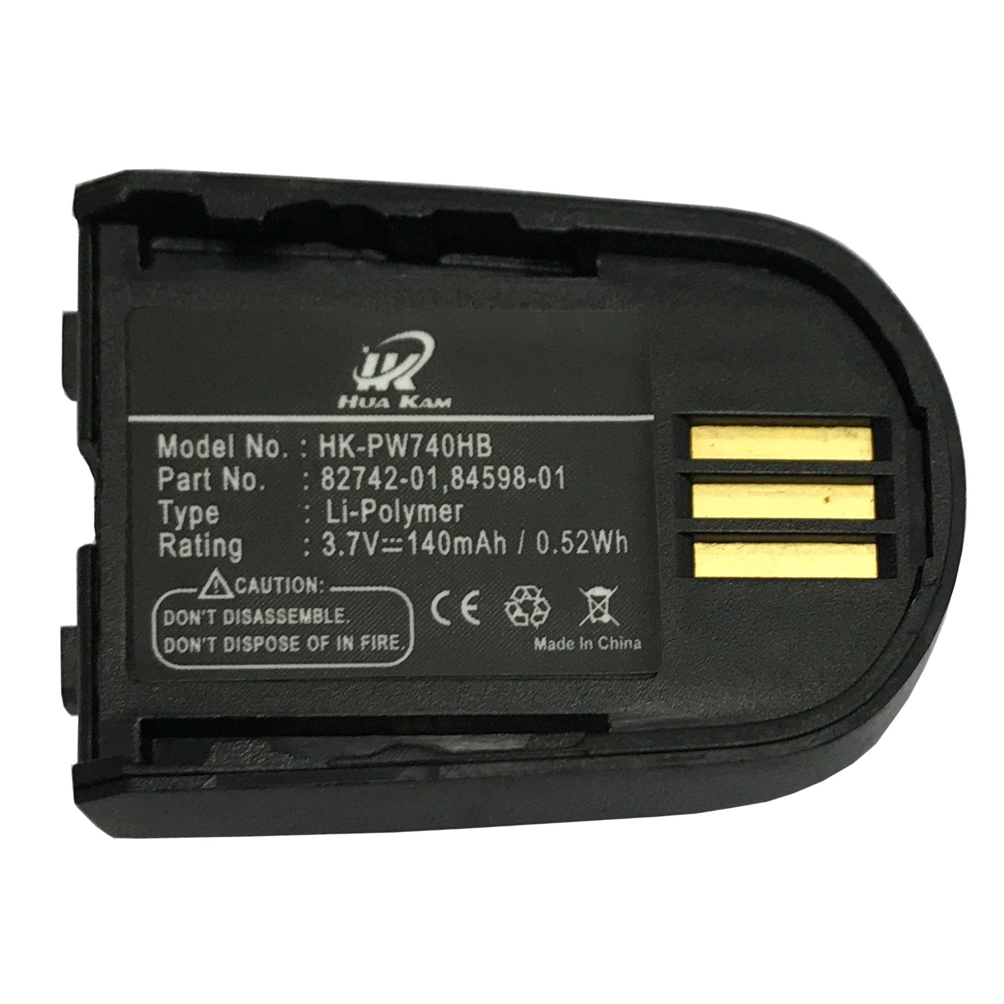 HUAKAM, 204755-01, 82742-01, 84598-01, Savi 740 Replacement Battery for Plantronics Savi 740, Savi 440, Savi W440, Savi W745, (Savi 740 Battery (1 Pack)) by KAMHUA