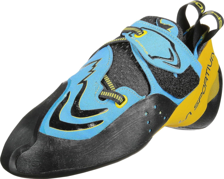 MultiCouleure (bleu jaune 000) 46 EU La Sportiva Futura bleu jaune, Chaussures d'escalade Mixte Adulte