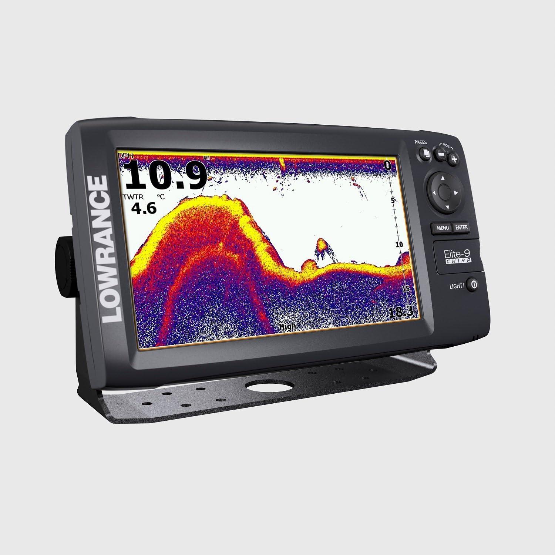 Lowrance GPS Plotter Sonda Elite-9 CHIRP Con transductor de Popa 83/200/455/800 KhZ: Amazon.es: Deportes y aire libre
